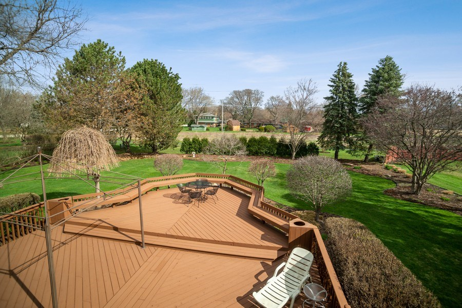 Real Estate Photography - 108 Andover Drive, Prospect Heights, IL, 60070 - View of Back Yard