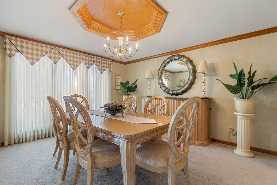 Real Estate Photography - 108 Andover Drive, Prospect Heights, IL, 60070 - Dining Room