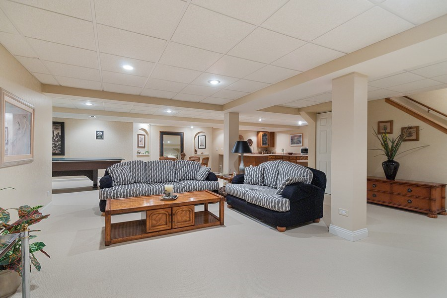 Real Estate Photography - 108 Andover Drive, Prospect Heights, IL, 60070 - Basement Family Room
