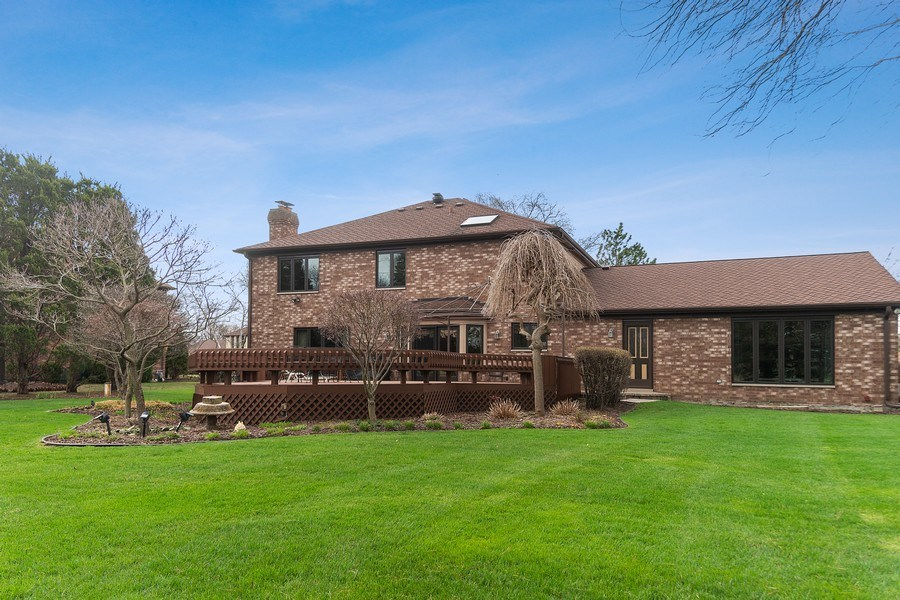 Real Estate Photography - 108 Andover Drive, Prospect Heights, IL, 60070 - View of Back of Home