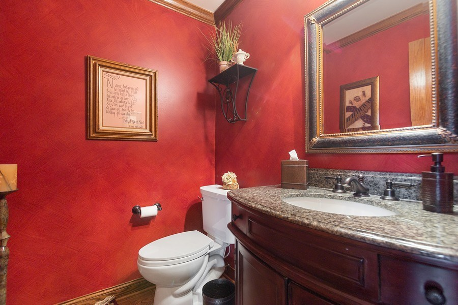 Real Estate Photography - 108 Andover Drive, Prospect Heights, IL, 60070 - Main Level Half Bath