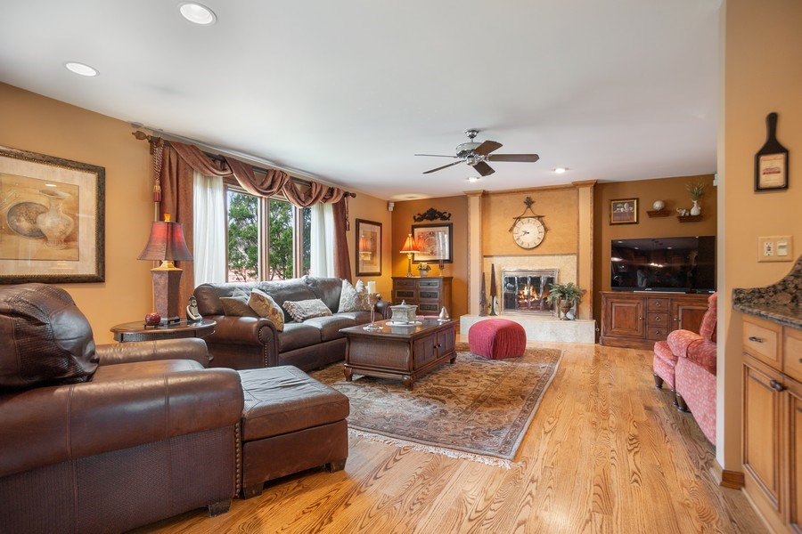 Real Estate Photography - 108 Andover Drive, Prospect Heights, IL, 60070 - Family room