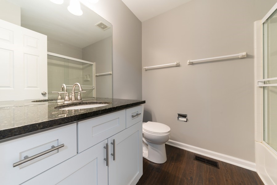 Real Estate Photography - 1732 Ellington Drive, Aurora, IL, 60503 - 3rd Bathroom