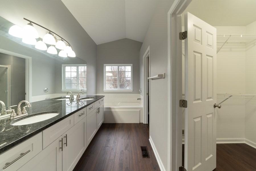 Real Estate Photography - 1732 Ellington Drive, Aurora, IL, 60503 - Master Bathroom