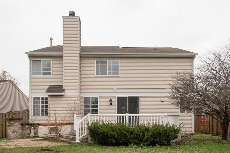 Real Estate Photography - 1732 Ellington Drive, Aurora, IL, 60503 - Rear View