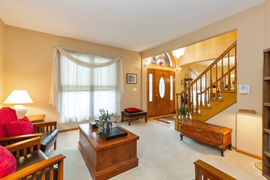 Real Estate Photography - 5 Cardiff Court, Algonquin, IL, 60102 - Living Room