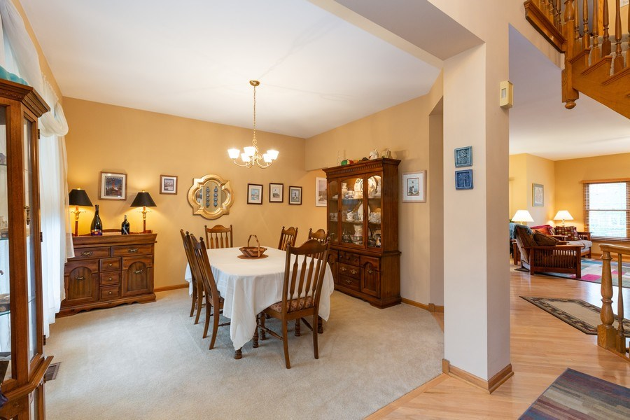 Real Estate Photography - 5 Cardiff Court, Algonquin, IL, 60102 - Dining Room