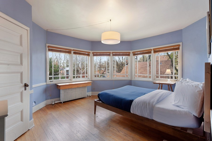Real Estate Photography - 1019 Chicago Ave, Oak Park, IL, 60302 - 3rd Bedroom