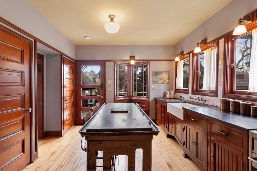 Real Estate Photography - 1019 Chicago Ave, Oak Park, IL, 60302 - Kitchen