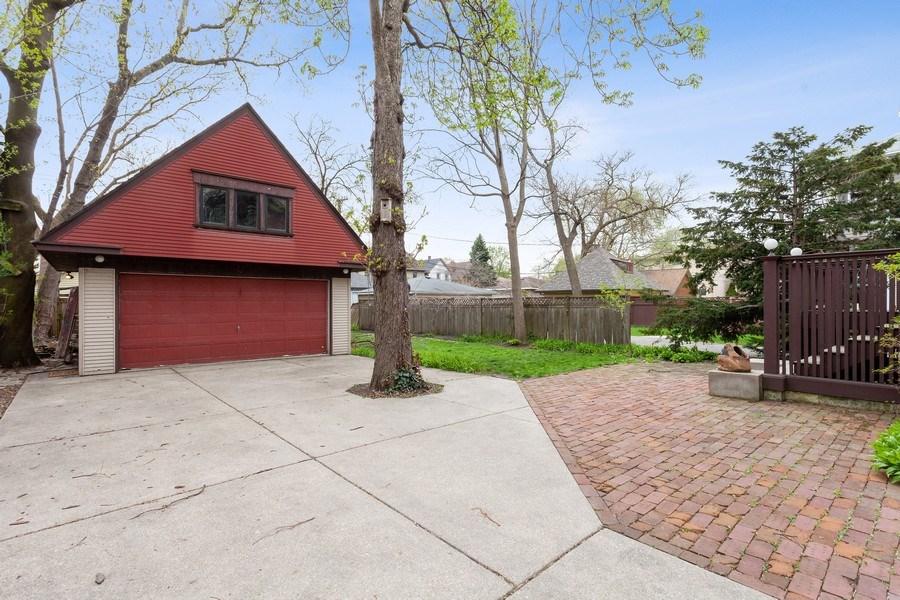 Real Estate Photography - 1019 Chicago Ave, Oak Park, IL, 60302 - Back Yard
