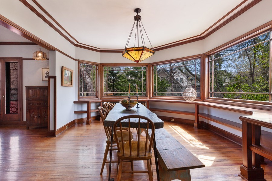 Real Estate Photography - 1019 Chicago Ave, Oak Park, IL, 60302 - Dining Room
