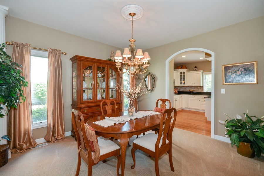 Real Estate Photography - 608 Pottawatomie Trail, Batavia, IL, 60510 - Dining Room