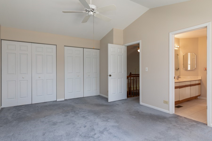 Real Estate Photography - 4065 N. Newport Lane, Arlington Heights, IL, 60004 - Master Bedroom
