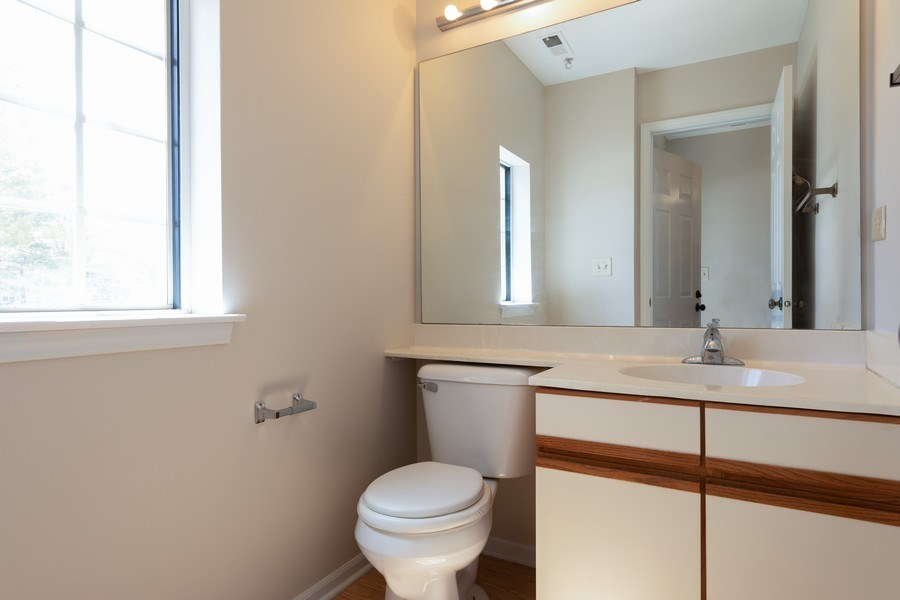 Real Estate Photography - 4065 N. Newport Lane, Arlington Heights, IL, 60004 - Half Bath