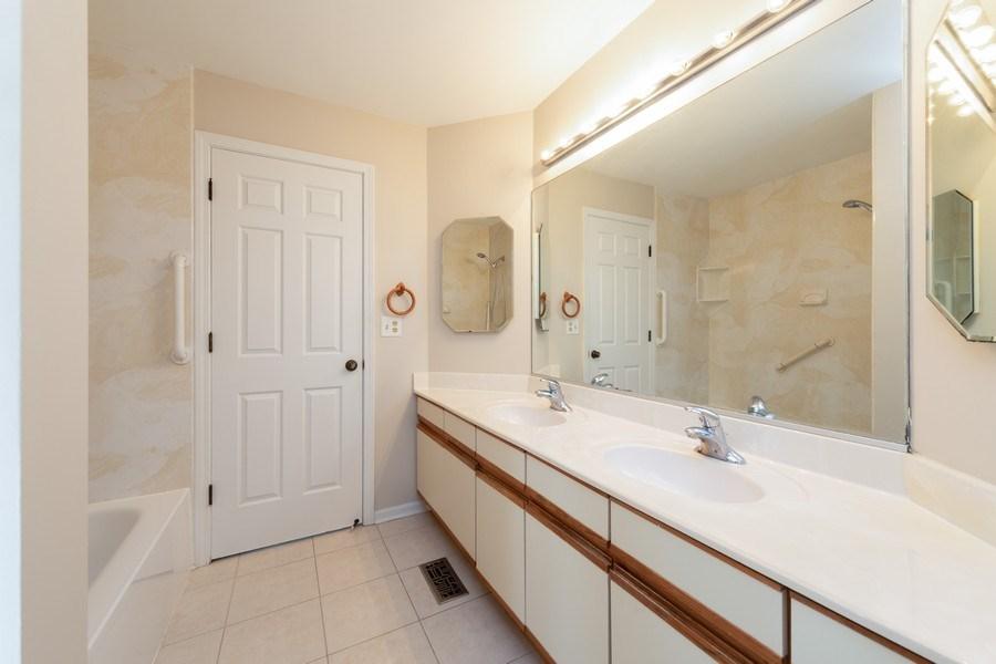 Real Estate Photography - 4065 N. Newport Lane, Arlington Heights, IL, 60004 - Bathroom