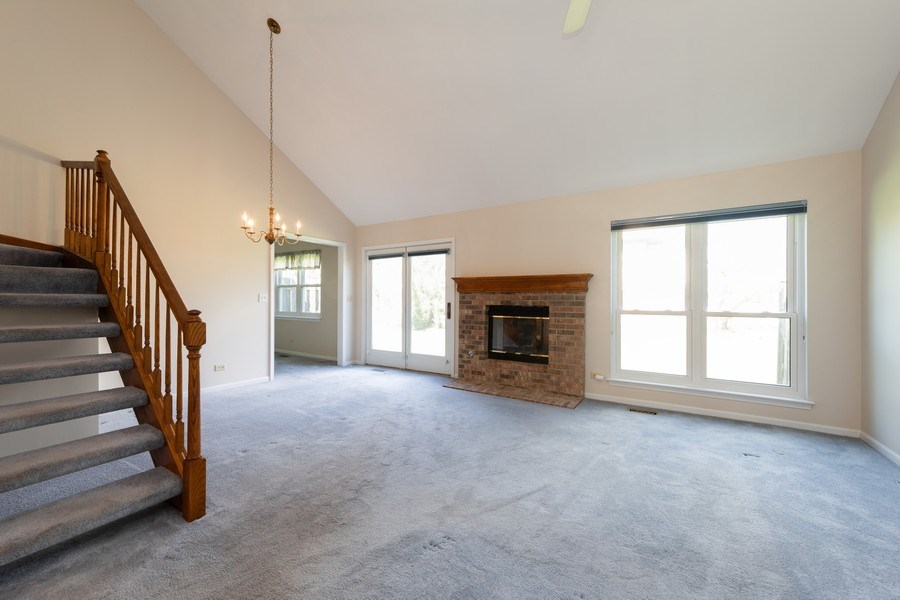 Real Estate Photography - 4065 N. Newport Lane, Arlington Heights, IL, 60004 - Living Room / Dining Room