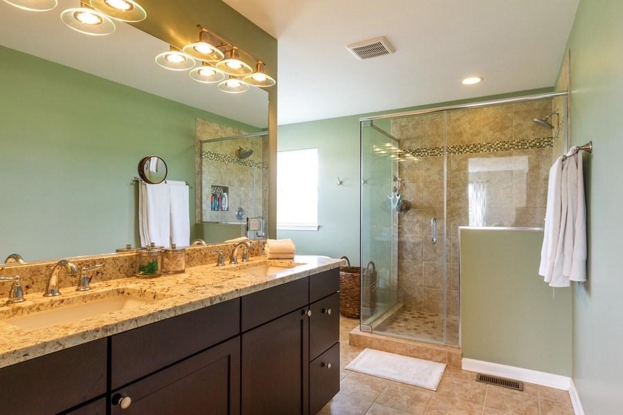 Real Estate Photography - 232 Frances Dr, Grayslake, IL, 60030 - Master Bathroom