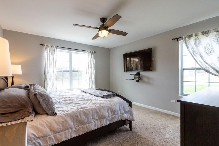 Real Estate Photography - 232 Frances Dr, Grayslake, IL, 60030 - Master Bedroom