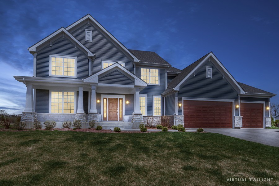 Real Estate Photography - 232 Frances Dr, Grayslake, IL, 60030 - Front View
