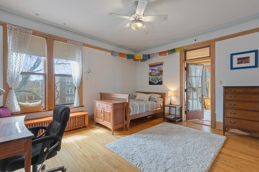 Real Estate Photography - 4950 S. WOODLAWN Avenue, Chicago, IL, 60615 - 2nd Bedroom