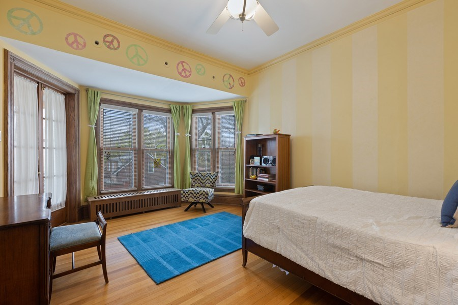 Real Estate Photography - 4950 S. WOODLAWN Avenue, Chicago, IL, 60615 - 3rd Bedroom