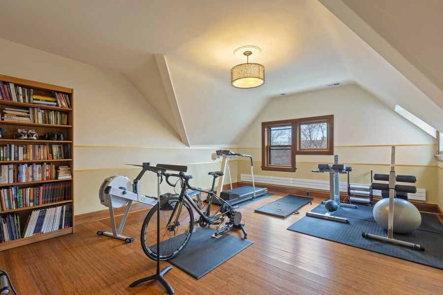 Real Estate Photography - 4950 S. WOODLAWN Avenue, Chicago, IL, 60615 - 6th Bedroom / Exercise room
