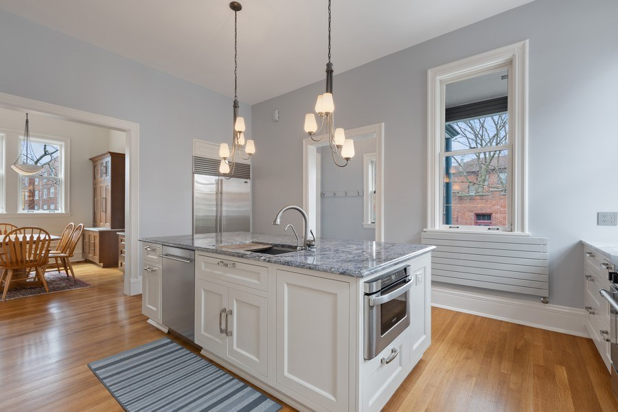 Real Estate Photography - 4950 S. WOODLAWN Avenue, Chicago, IL, 60615 - Kitchen