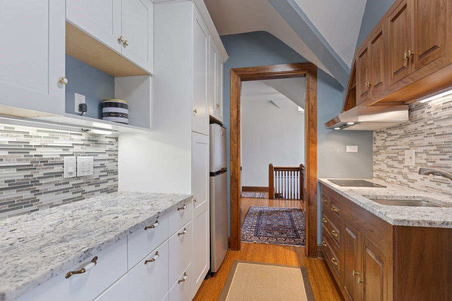 Real Estate Photography - 4950 S. WOODLAWN Avenue, Chicago, IL, 60615 - Third Level Kitchen