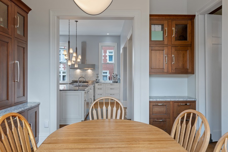 Real Estate Photography - 4950 S. WOODLAWN Avenue, Chicago, IL, 60615 - Eat-In Kitchen
