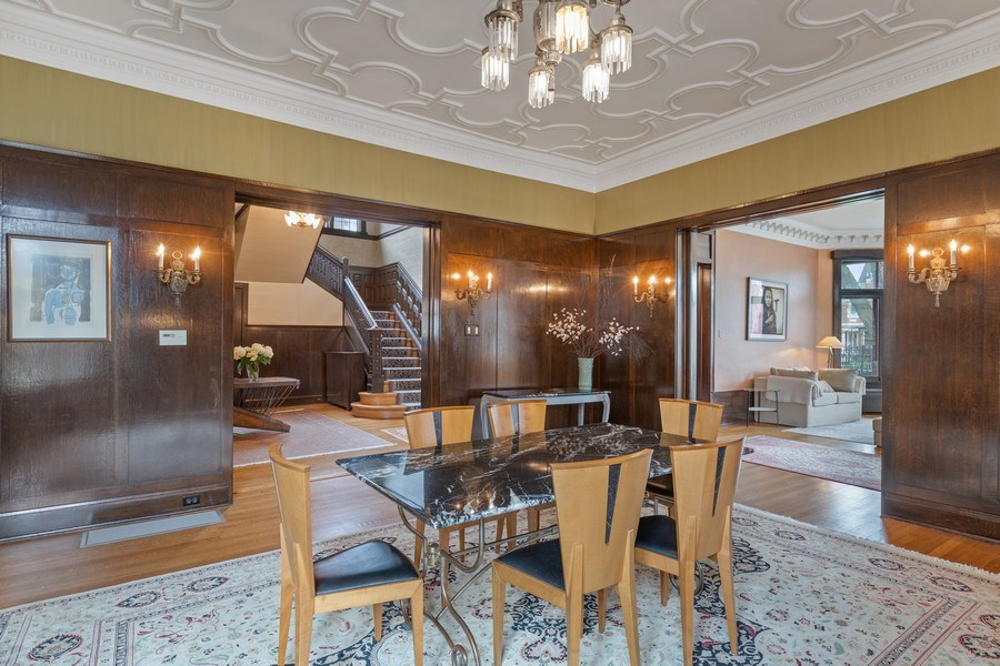Real Estate Photography - 4950 S. WOODLAWN Avenue, Chicago, IL, 60615 - Dining Room