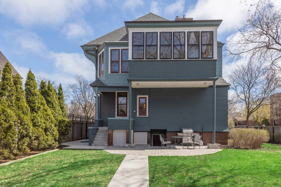 Real Estate Photography - 4950 S. WOODLAWN Avenue, Chicago, IL, 60615 - Rear View