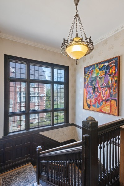Real Estate Photography - 4950 S. WOODLAWN Avenue, Chicago, IL, 60615 - Staircase