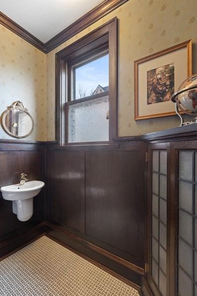 Real Estate Photography - 4950 S. WOODLAWN Avenue, Chicago, IL, 60615 - Half Bath