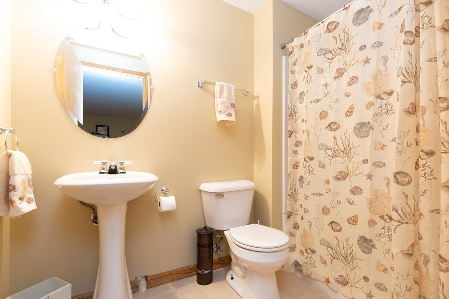 Real Estate Photography - 6208 BRIGHTON Lane, Lakewood, IL, 60014 - 3rd Bathroom