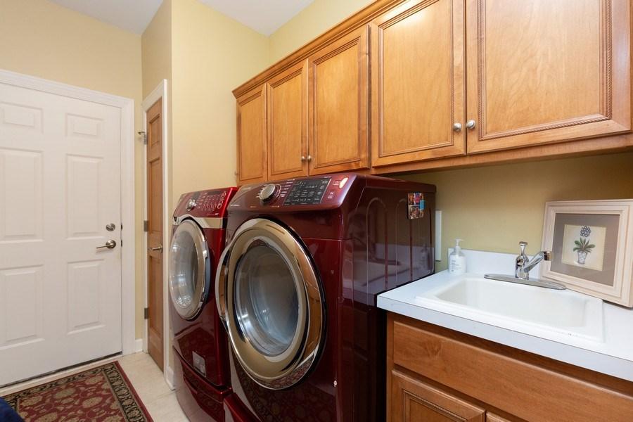 Real Estate Photography - 6208 BRIGHTON Lane, Lakewood, IL, 60014 - Laundry Room
