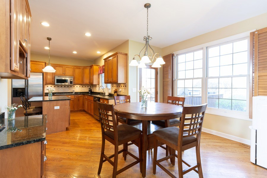 Real Estate Photography - 6208 BRIGHTON Lane, Lakewood, IL, 60014 - Kitchen