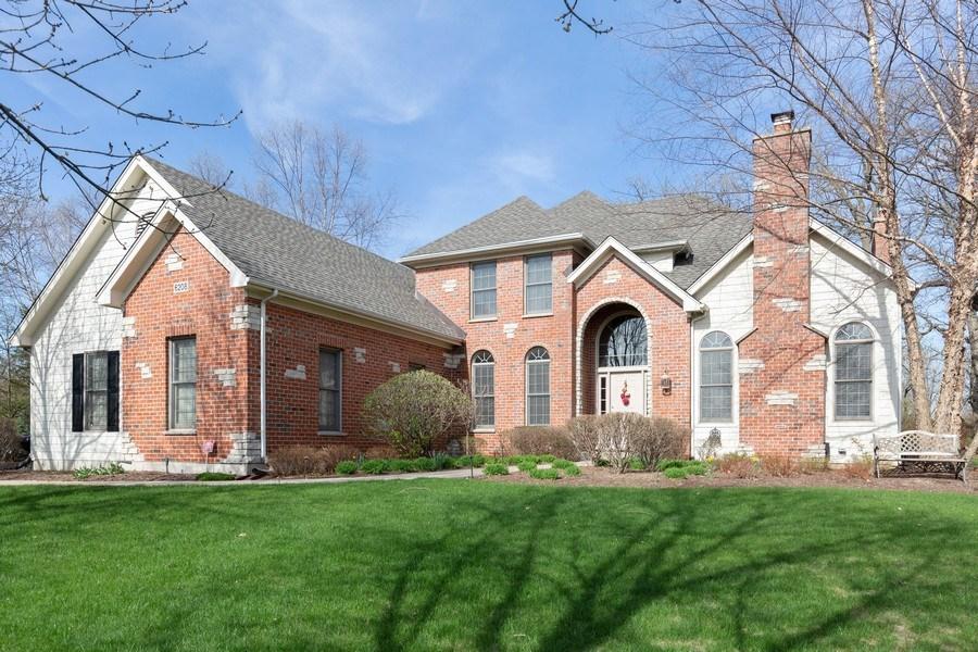 Real Estate Photography - 6208 BRIGHTON Lane, Lakewood, IL, 60014 - Front View