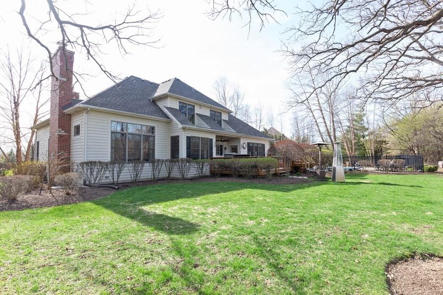 Real Estate Photography - 6208 BRIGHTON Lane, Lakewood, IL, 60014 - Rear View