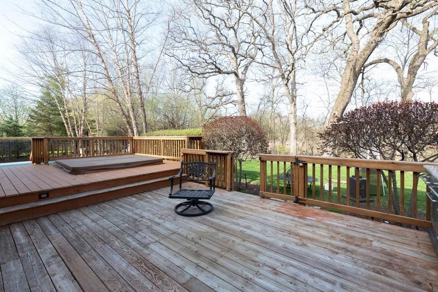 Real Estate Photography - 6208 BRIGHTON Lane, Lakewood, IL, 60014 - Deck