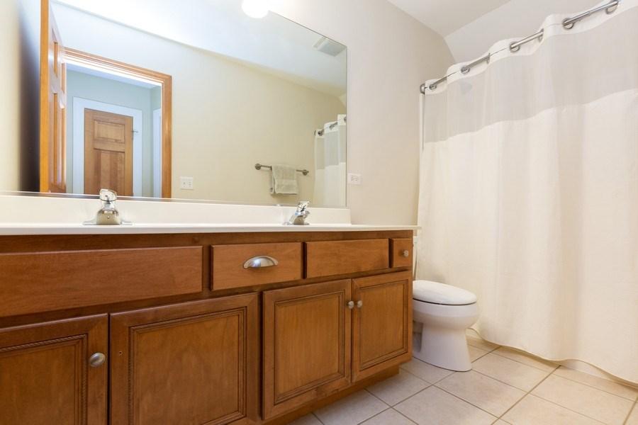 Real Estate Photography - 6208 BRIGHTON Lane, Lakewood, IL, 60014 - 2nd Bathroom