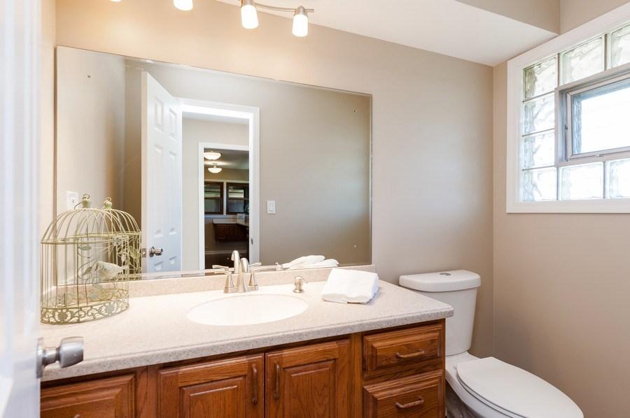 Real Estate Photography - 39351 N. Carol Lane, Beach Park, IL, 60099 - Powder Room