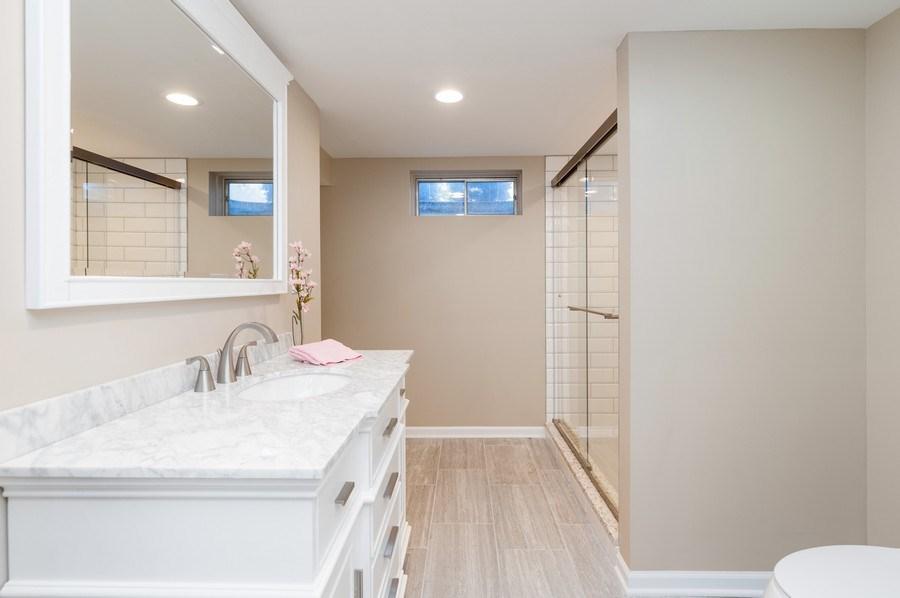 Real Estate Photography - 39351 N. Carol Lane, Beach Park, IL, 60099 - Basement Full Bath