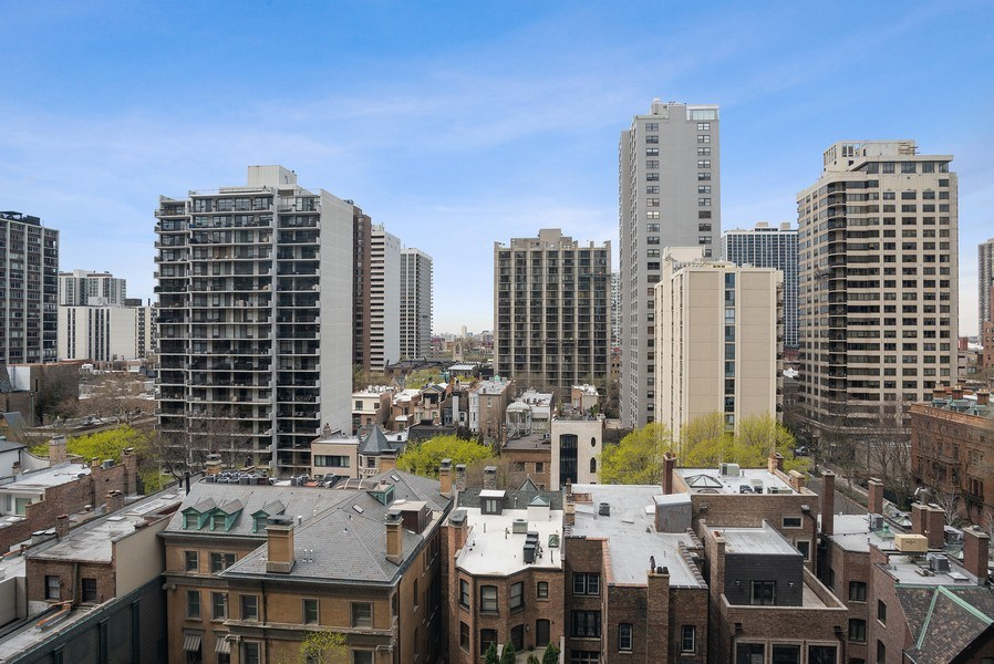 Real Estate Photography - 1440 N. Lake Shore Drive, Unit 11F, Chicago, IL, 60610 - View