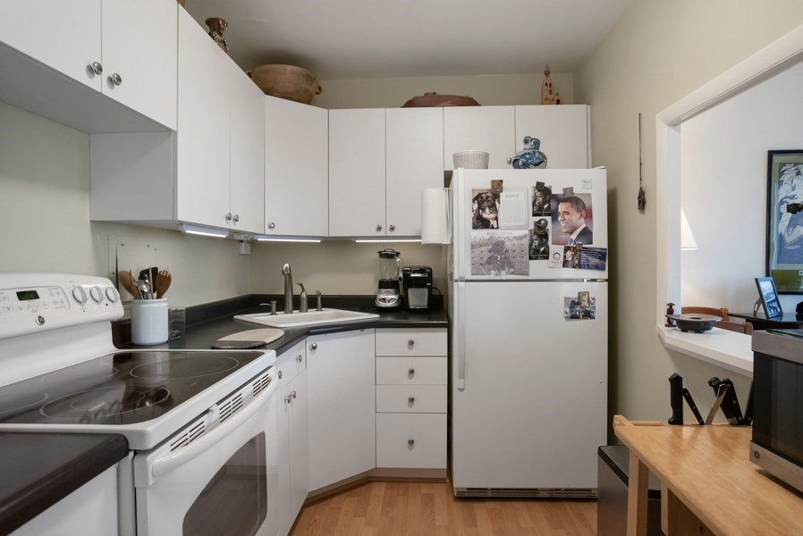 Real Estate Photography - 1440 N. Lake Shore Drive, Unit 11F, Chicago, IL, 60610 - Kitchen