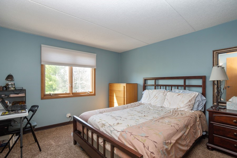 Real Estate Photography - 225 E. Wing Street, Unit 402, Arlington Heights, IL, 60004 - Master Bedroom