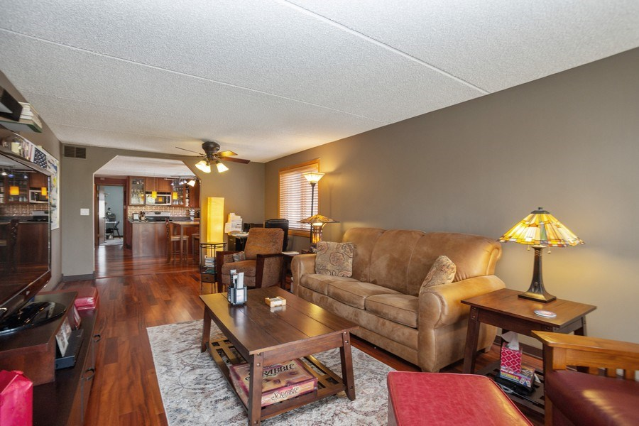 Real Estate Photography - 225 E. Wing Street, Unit 402, Arlington Heights, IL, 60004 - Living Room