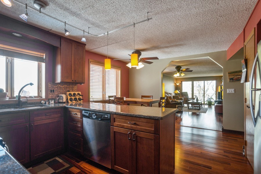 Real Estate Photography - 225 E. Wing Street, Unit 402, Arlington Heights, IL, 60004 - Kitchen