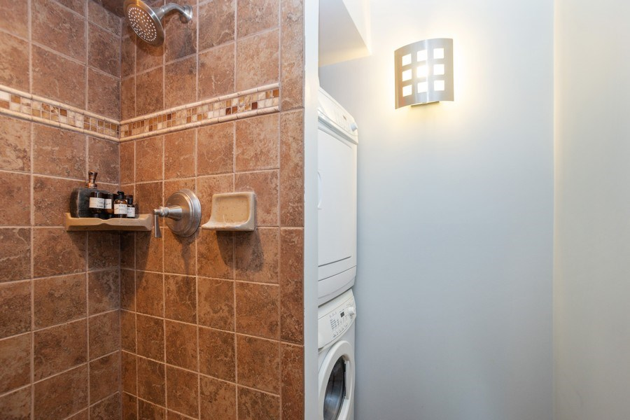 Real Estate Photography - 225 E. Wing Street, Unit 402, Arlington Heights, IL, 60004 - Laundry Room