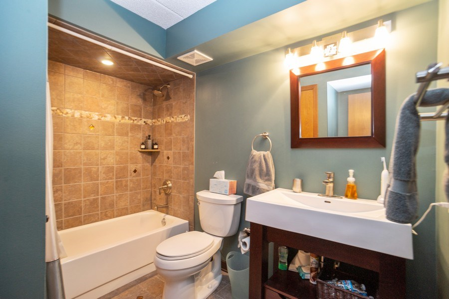 Real Estate Photography - 225 E. Wing Street, Unit 402, Arlington Heights, IL, 60004 - Bathroom