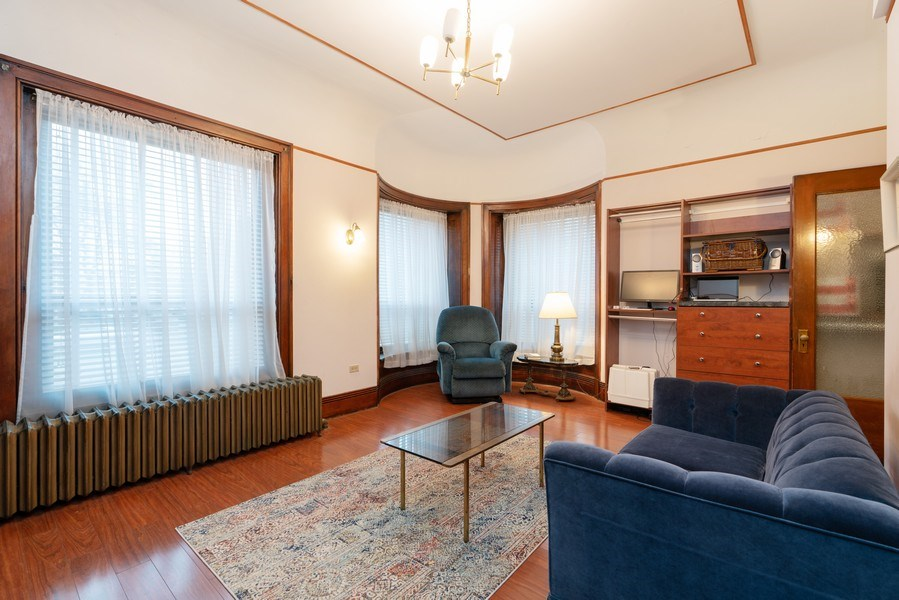 Real Estate Photography - 3601 S. Michigan Avenue, Chicago, IL, 60653 - Sitting Room